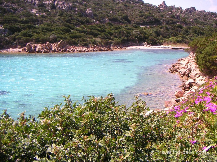 One of Sardinia small bays