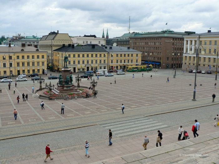 View of Helsinki Senate Square