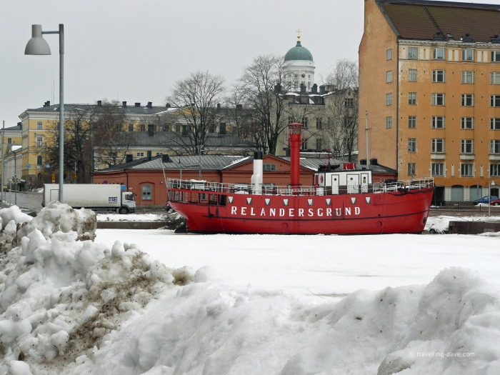 A winter day in Helsinki