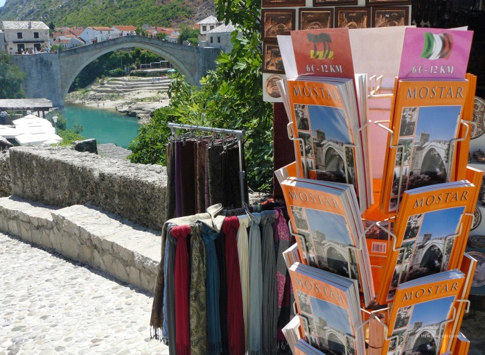 Books for sale in Mostar