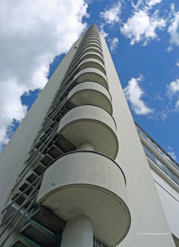 Looking up at Helsinki Olympic Stadium Tower