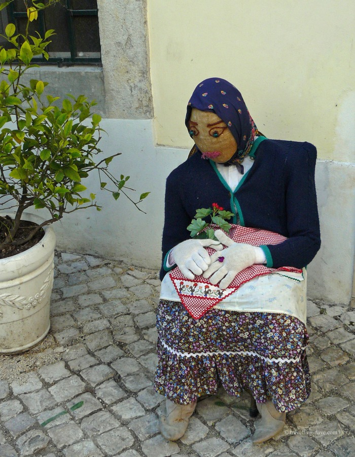One of the famous stuffed dolls of Sintra