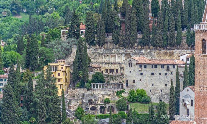 View of the Roman Theatre in Verona