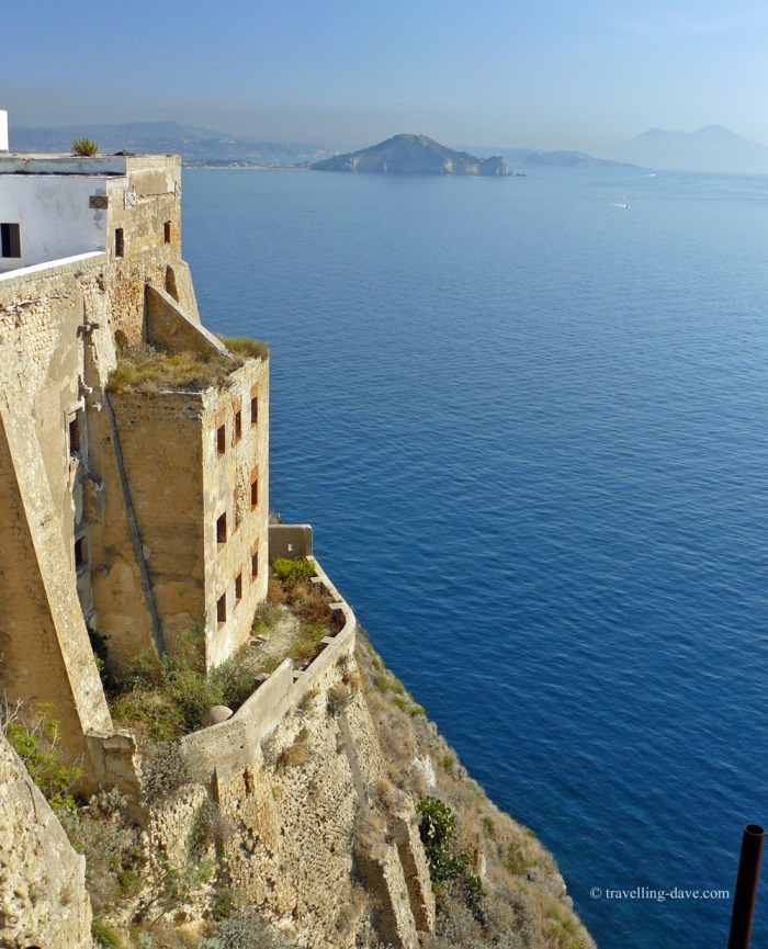 View from Terra Murata on the island of Procida