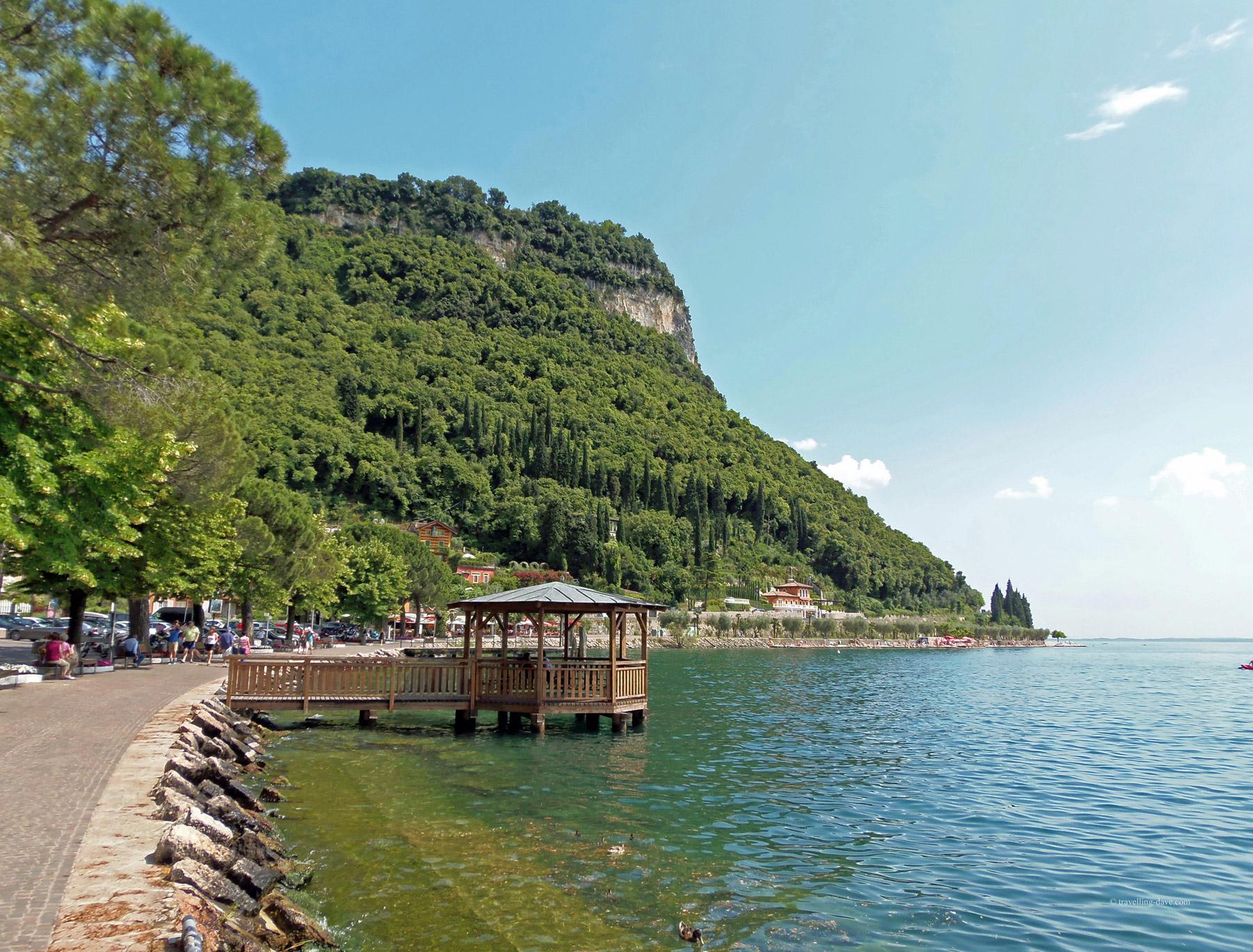 The Rock of Garda in Italy