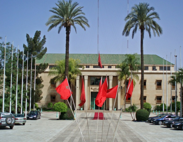 View of the City Hall in Marrakech