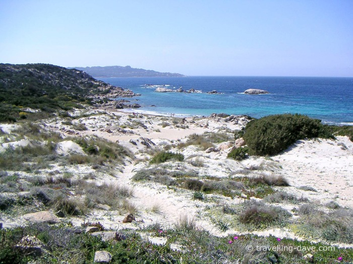 One of Sardinia many beaches