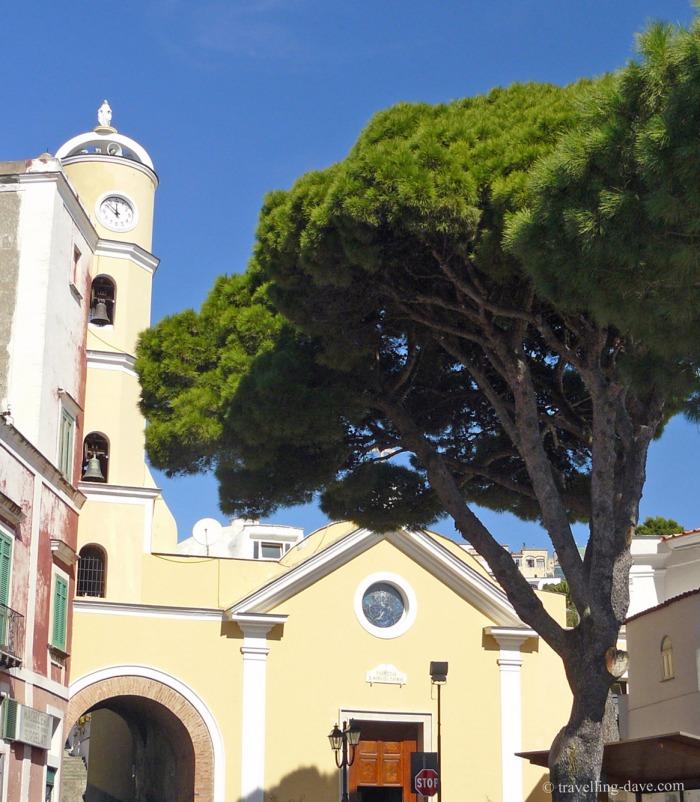 One of Ischia's churches