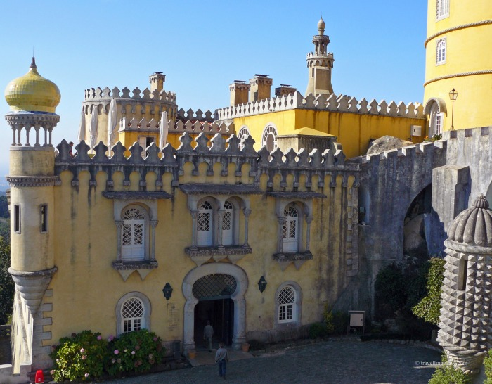 One of the buildings of Sintra Pena National Palace