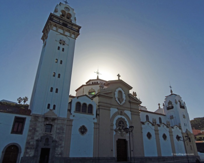 View of Candelaria Basilica