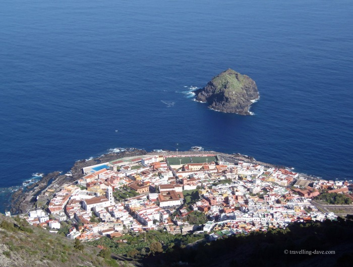 View of the village of Garachico