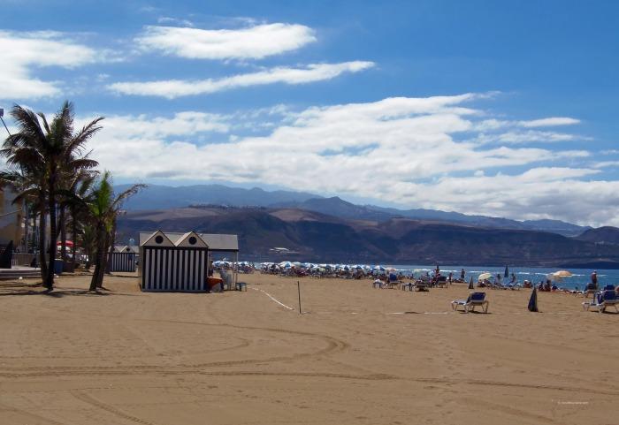Las Canteras Beach on Gran Canaria