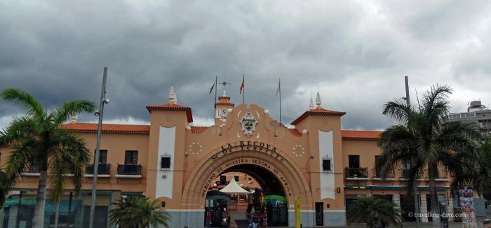 View of Nuestra Senora de Africa Market