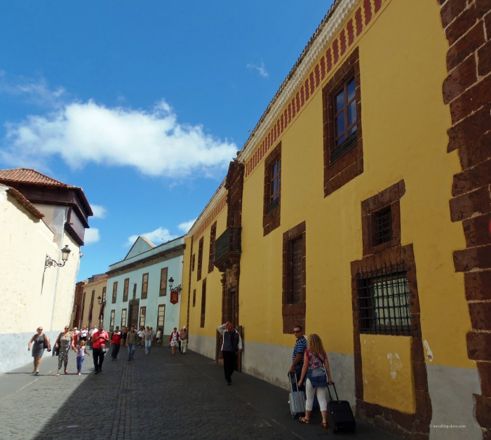 A street in La Laguna in Tenerife