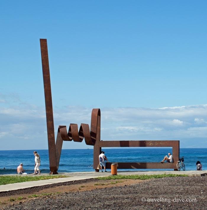 One of Tenerife sculptures