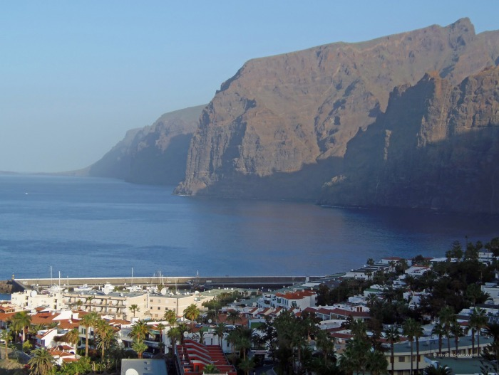 View of Los Gigantes in Tenerife