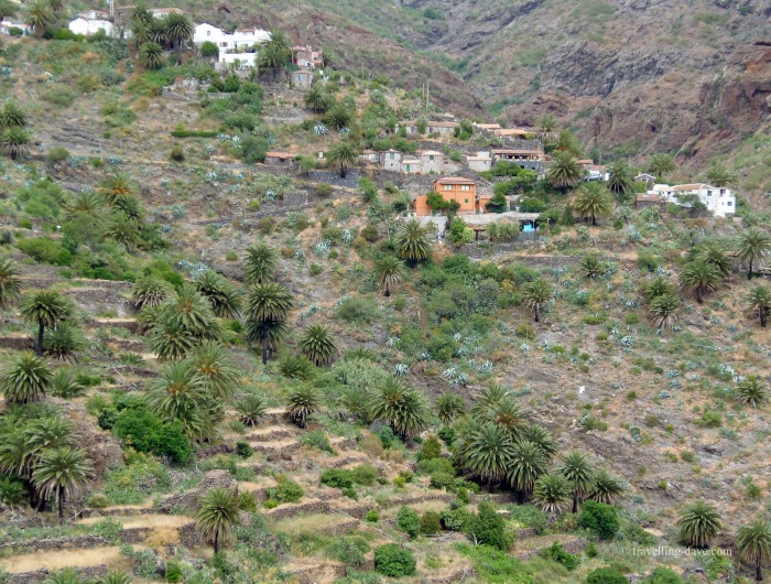 View of the village of Masca