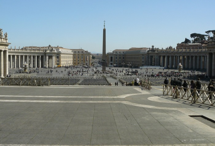 View of St.Peter's Square
