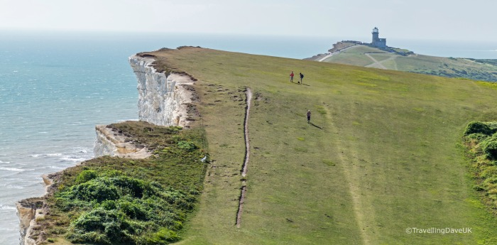 View of Beachy Head near Eastbourne