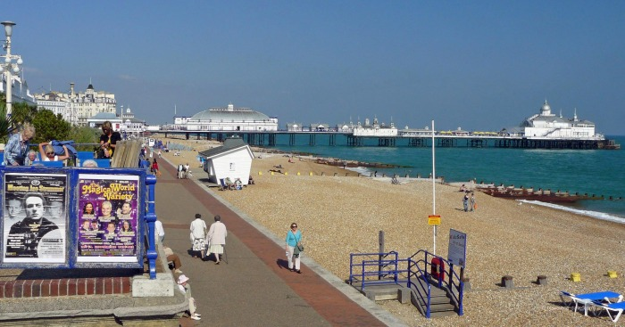 The promenade in Eastbourne