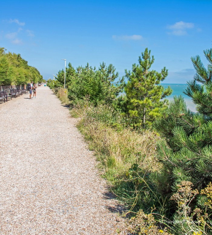 View of the path from Eastbourne to Beachy Head