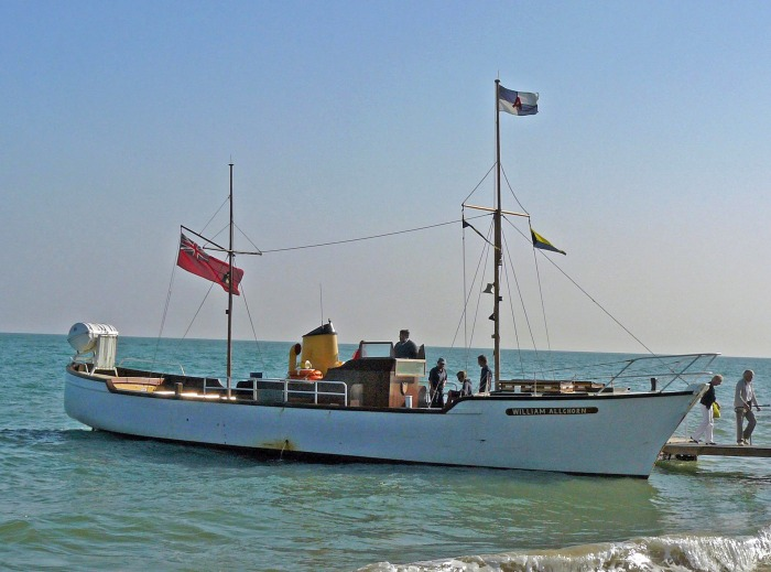 A tour boat in Eastbourne