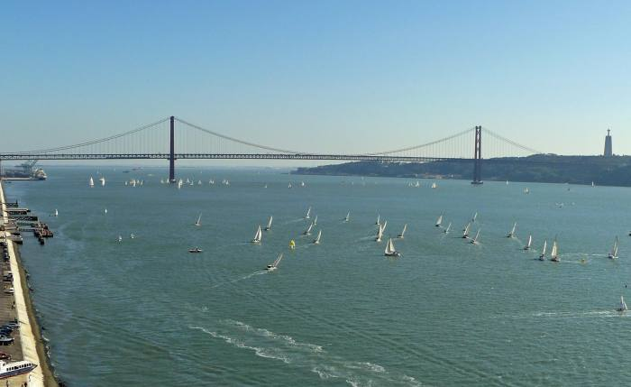 View of the river Tagus in Lisbon