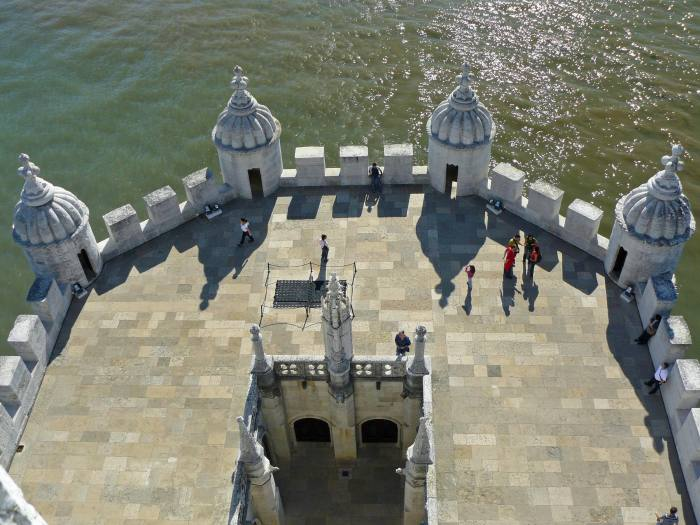 One of Belem Tower terraces