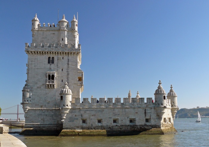 View of Lisbon Belem Tower
