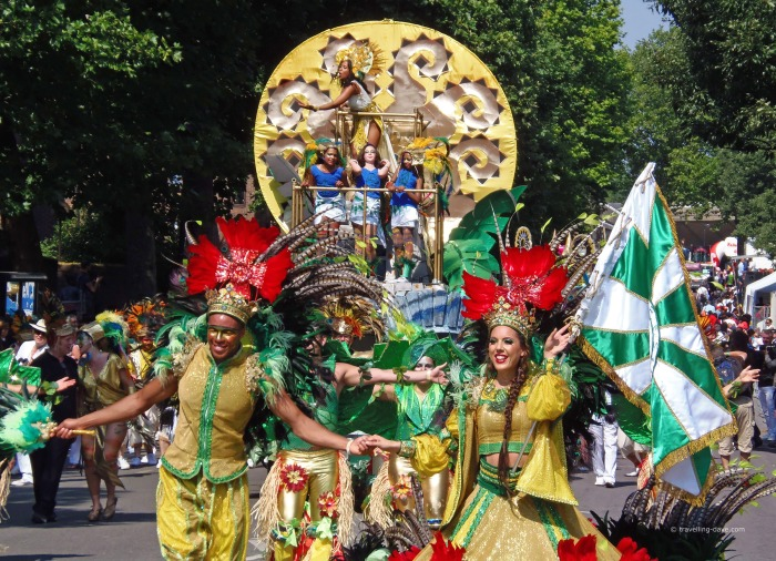 One of Notting Hill Carnival floats