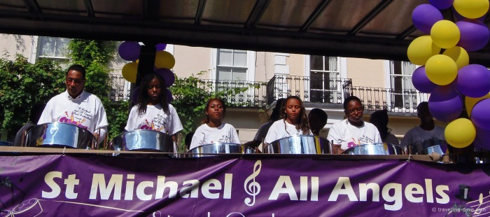 Notting Hill Carnival steel band