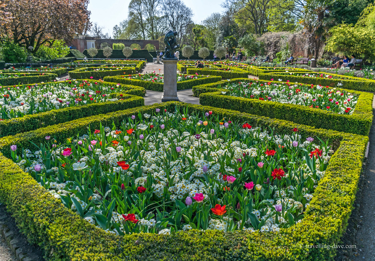 Marvelous Dutch Gardens, Holland Park, London