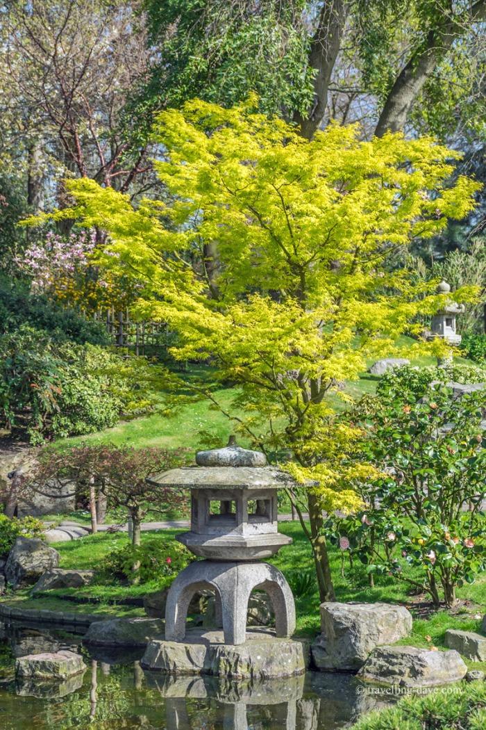 Holland Park Kyoto Garden stone lantern
