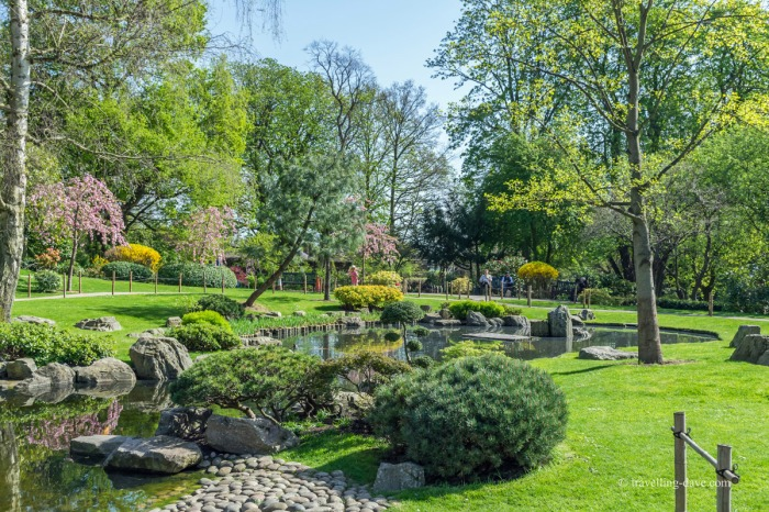 View of Kyoto Garden in Holland Park