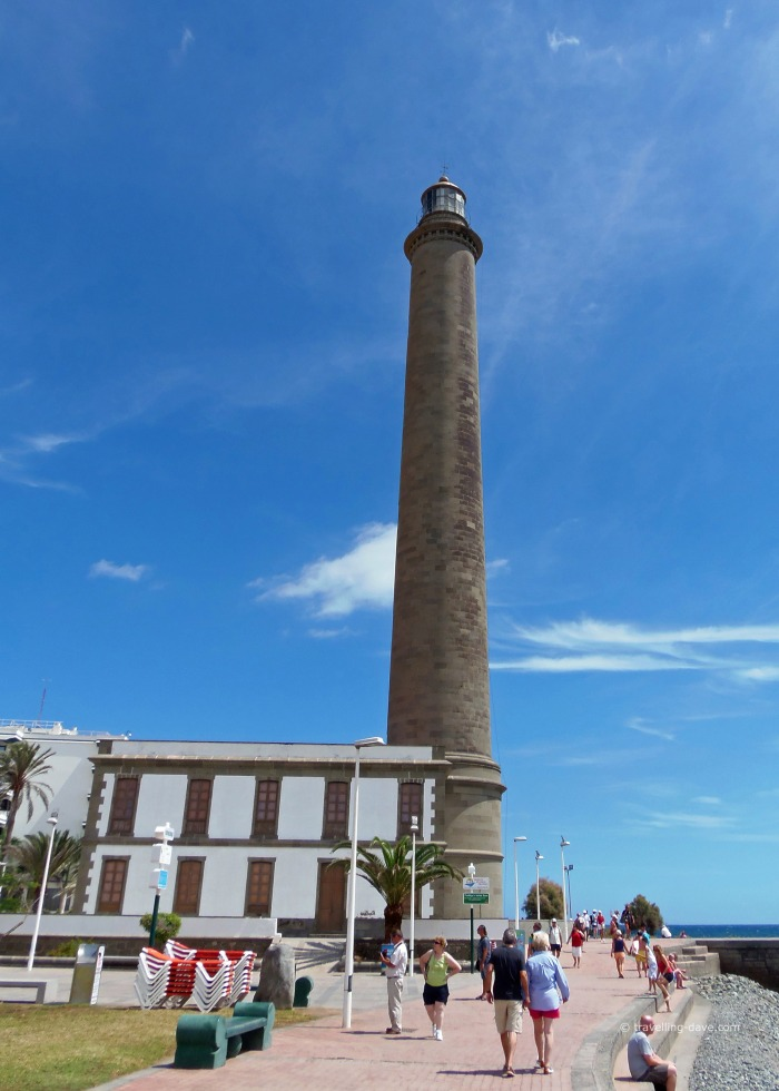 View of the Maspalomas lighthouse