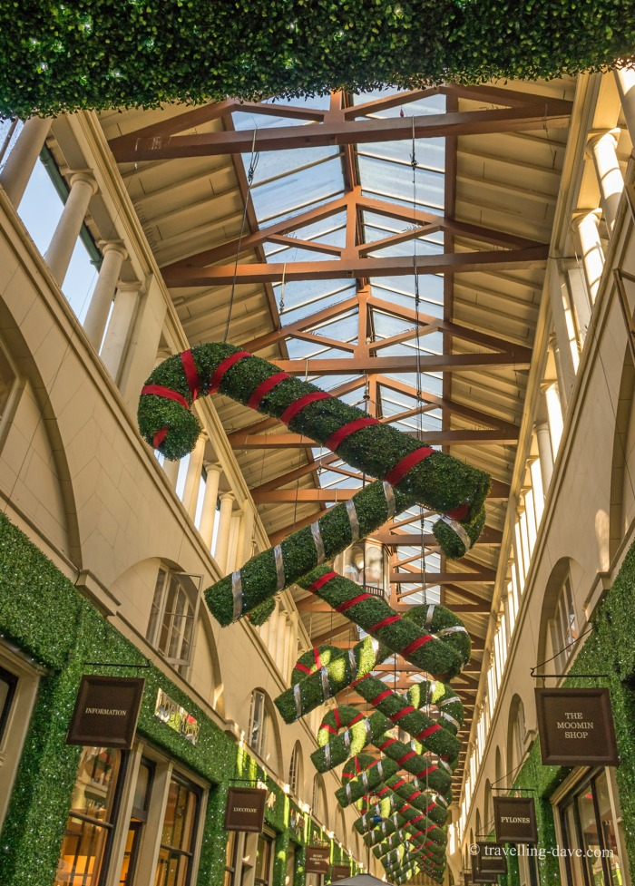 Some of Covent Garden Christmas decorations