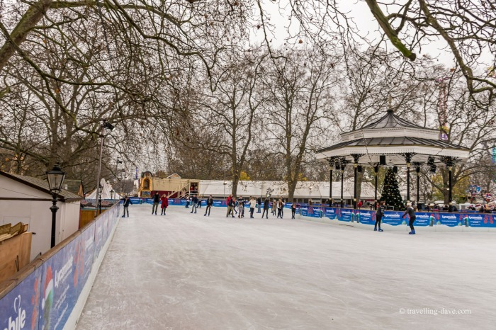 Winter Wonderland ice skating rink