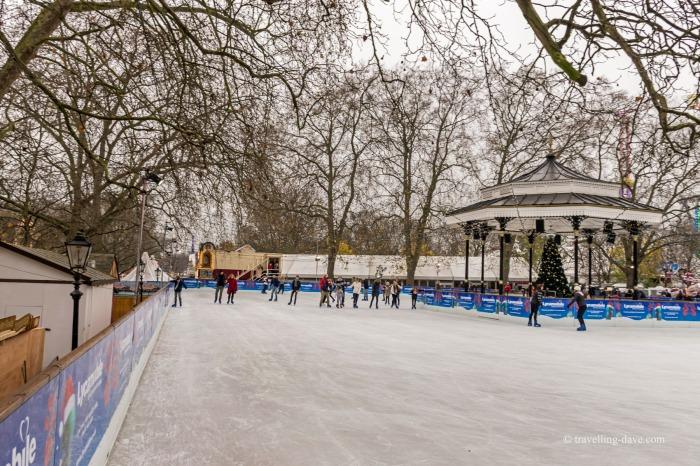 Winter Wonderland ice skating rink