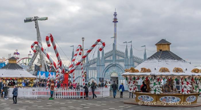 Entrance to Winter Wonderland Magical Kingdom