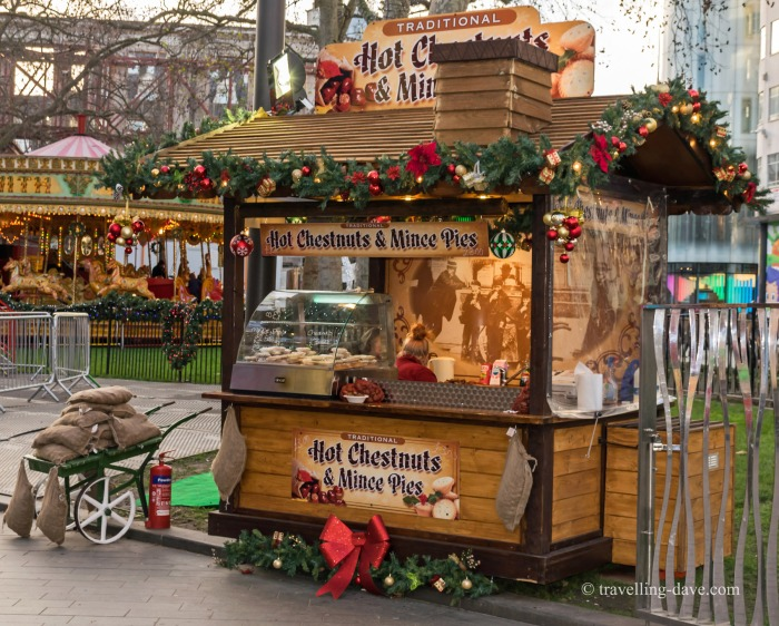 A kiosk in London's Leicester Square