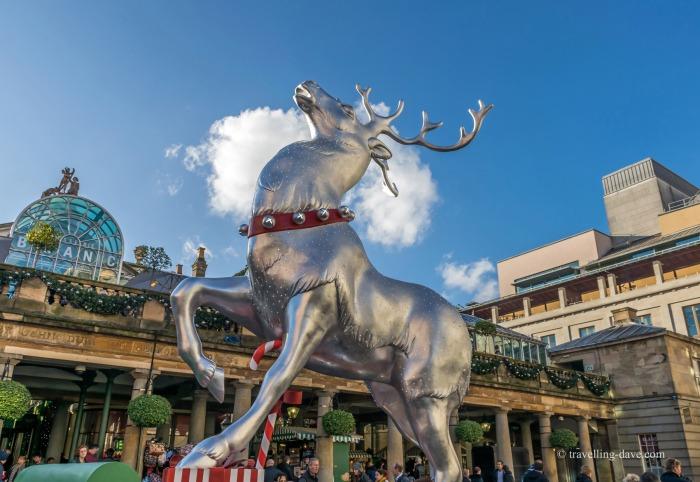 Covent Garden Christmas reindeer