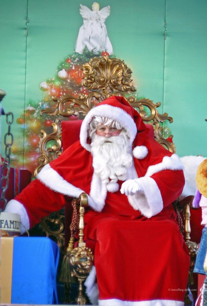 Winter Wonderland Santa