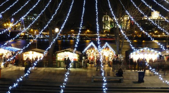 London South Bank at Christmas