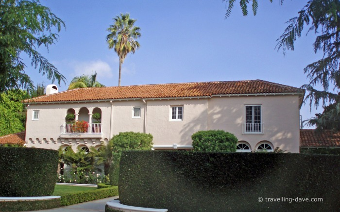 One of Beverly Hills mansions