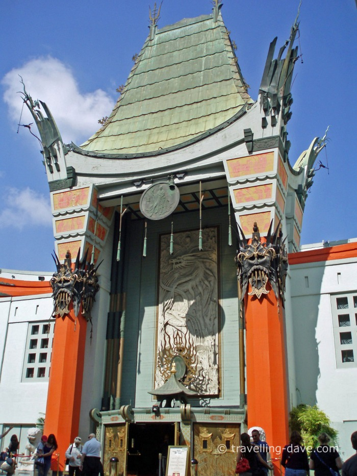 Hollywood famous TLC Chinese Theatre