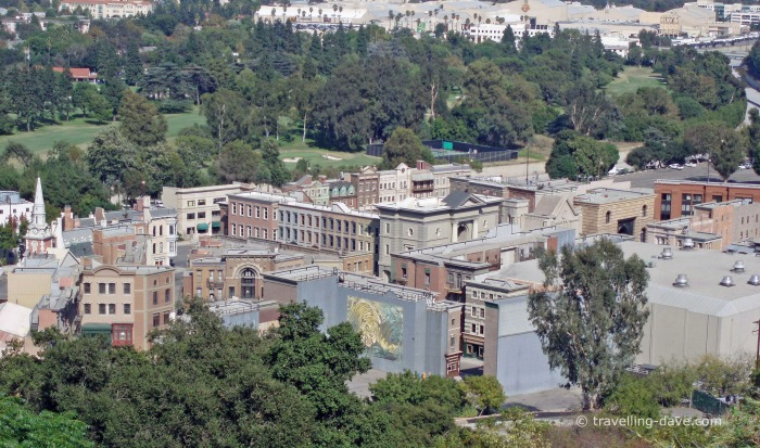 View of the Universal Studios in Los Angeles