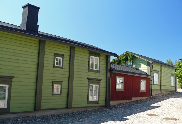Porvoo Old Town wooden houses