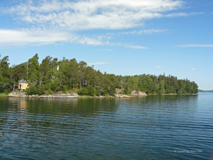 One of the small islands of the Eastern archipelago