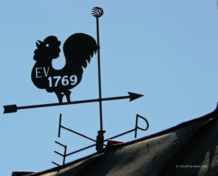 One of Porvoo weathervanes