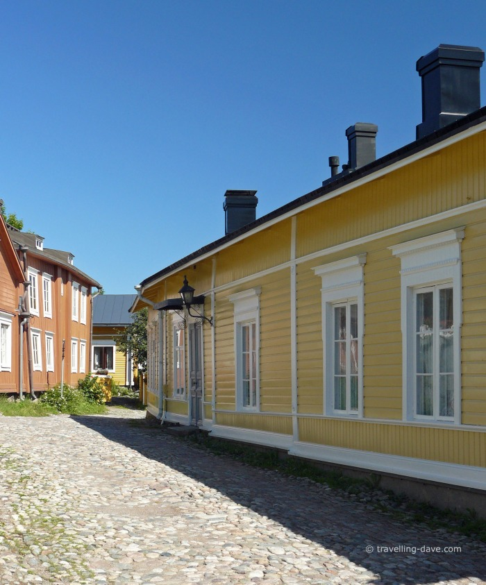 Houses in Porvoo Old Town